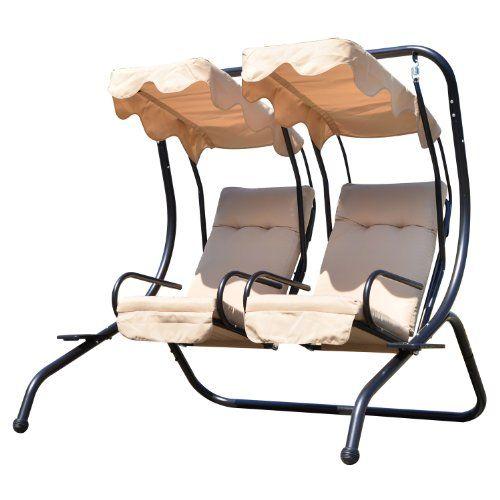 outsunny garden outdoor swing chair 2 seater swinging  outsunny garden outdoor swing chair 2 seater swinging hammock      rh   pinterest