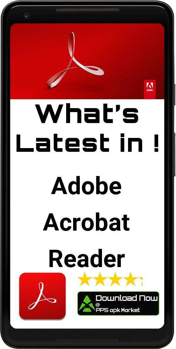Adobe Acrobat Reader PDF Viewer, Editor & Creator App