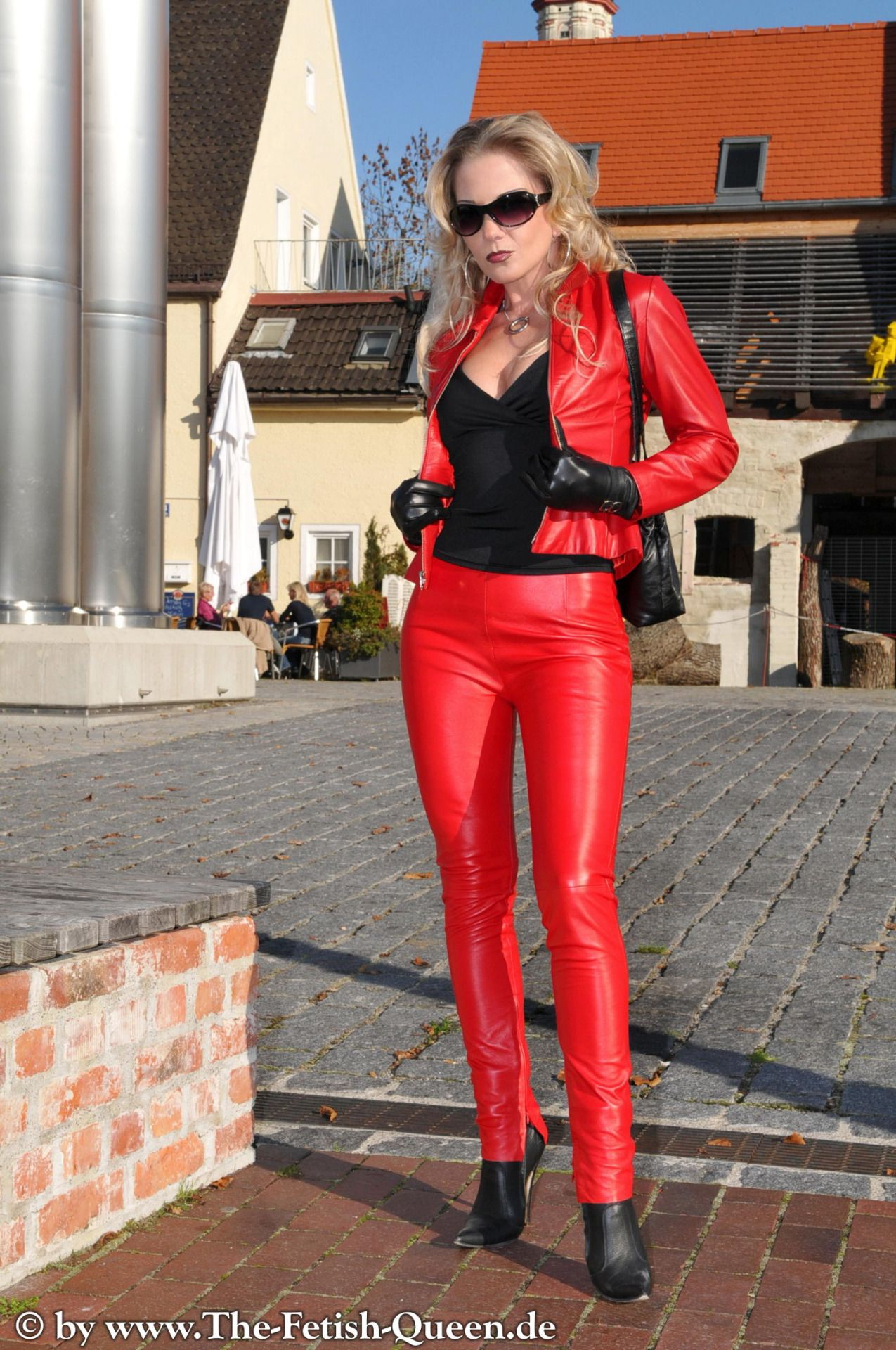 wifes in sexy leather