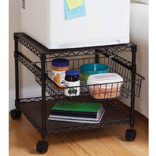 multi purpose rolling utility cart 2 shelf. Black Bedroom Furniture Sets. Home Design Ideas