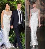 We 'like'! Zuckerberg's bride wore a $4,700 wedding gown