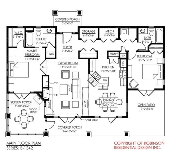 Log Home Floor Plans with Garage and Basement Below Great Room – Log Home Floor Plans With Garage And Basement