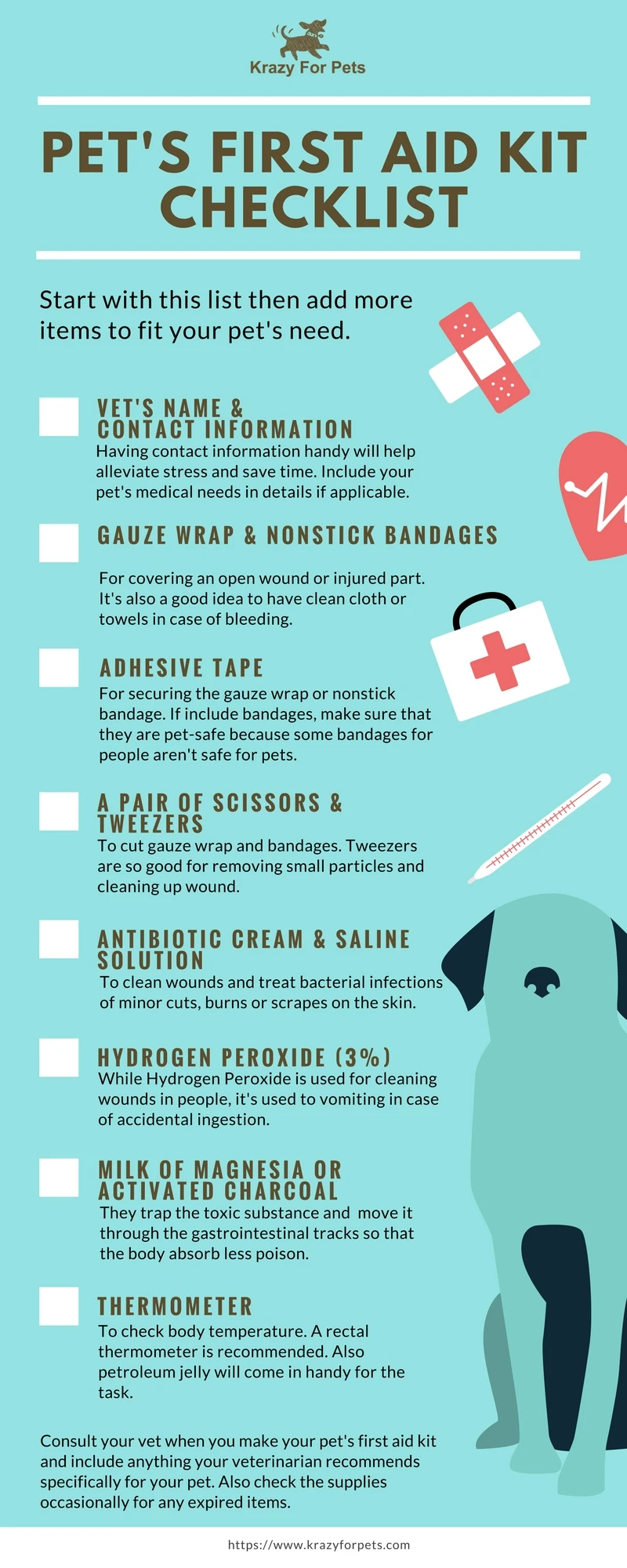 The Perfect Dog First Aid Kit — Whats In It?
