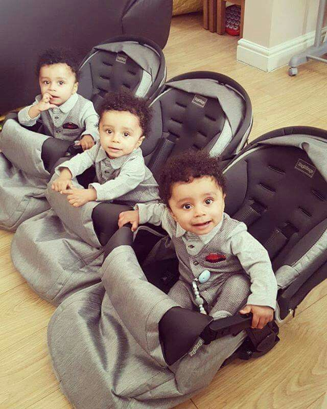 Oh My Triplets With Images Cute Little Baby Pretty Baby Cute