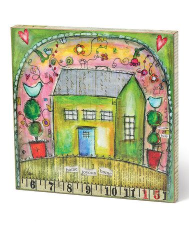 Take a look at this 'Joyous Home' Wall Art by DEMDACO on #zulily today!