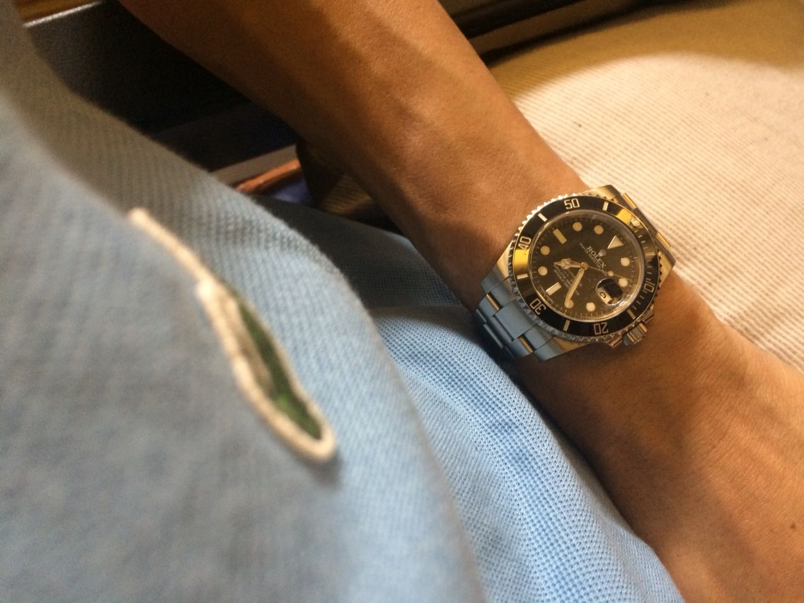 Another Lacoste-Submariner deadly combination ☺️