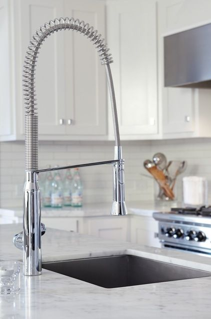 The Kitchen Faucet S Basic Function Is To Dispense Hot And Cold