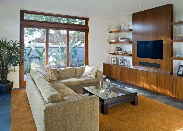Ultra Clean Tv Cabinet Houzz September 2011 Modern Family Rooms Modern Family Room Design Family Room Design