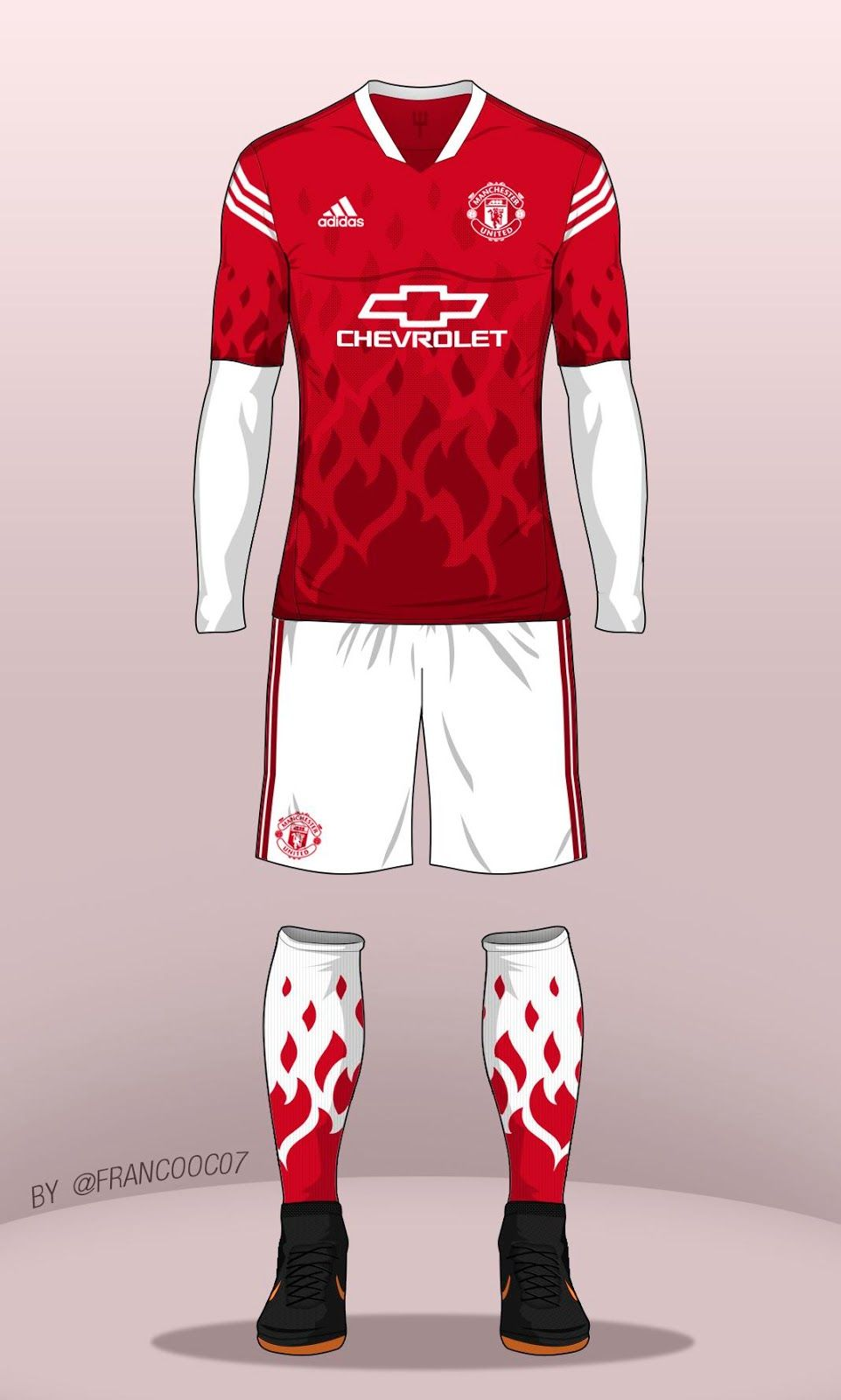 Bold Manchester United Concept Kit By Franco Footy Headlines Cycling Jersey Design Sports Shirts Manchester United