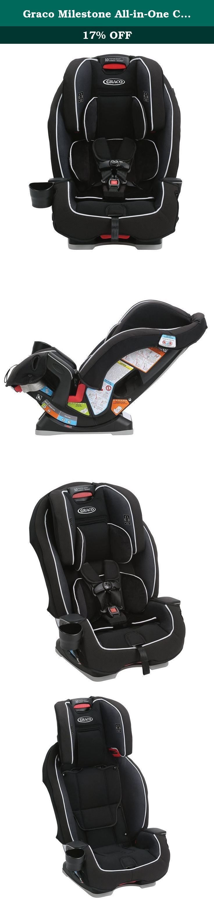 Graco Milestone All-in-One Convertible Car Seat, Gotham. The Graco ...
