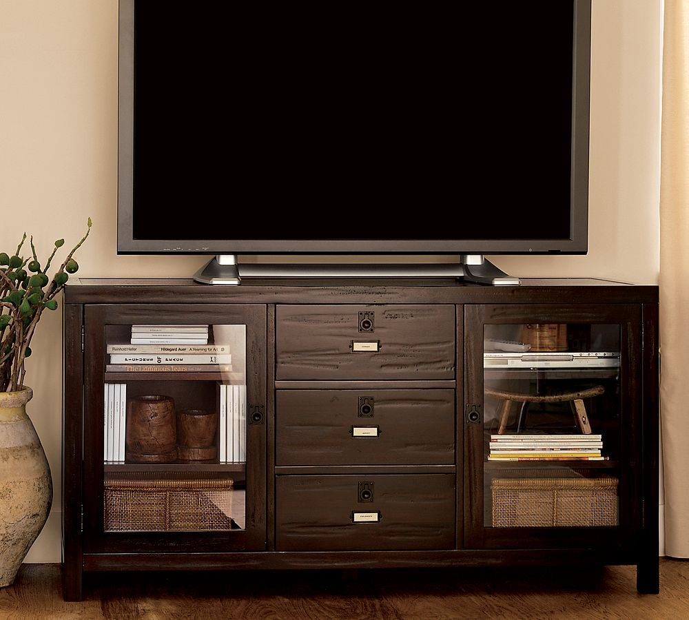 Rhys Media Console From Pottery Barn