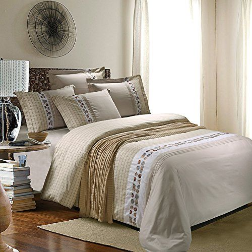 Romroyal 100% Cotton Embroidery 4pc Bedding Sets, Queen/full Size (Full) Romroyal http://www.amazon.com/dp/B01AW3YPZU/ref=cm_sw_r_pi_dp_JFyPwb0Y195CQ