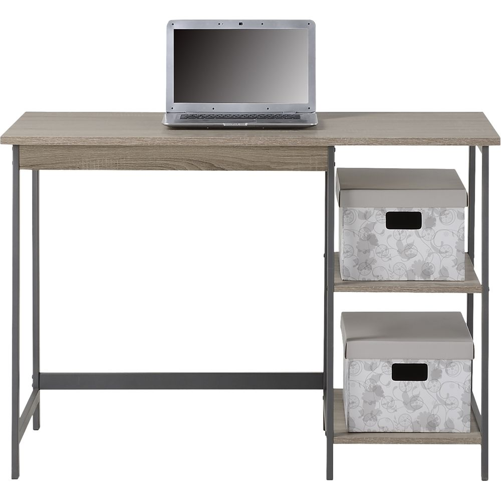 Homestar laptop desk with bookcase reclaimed wood products