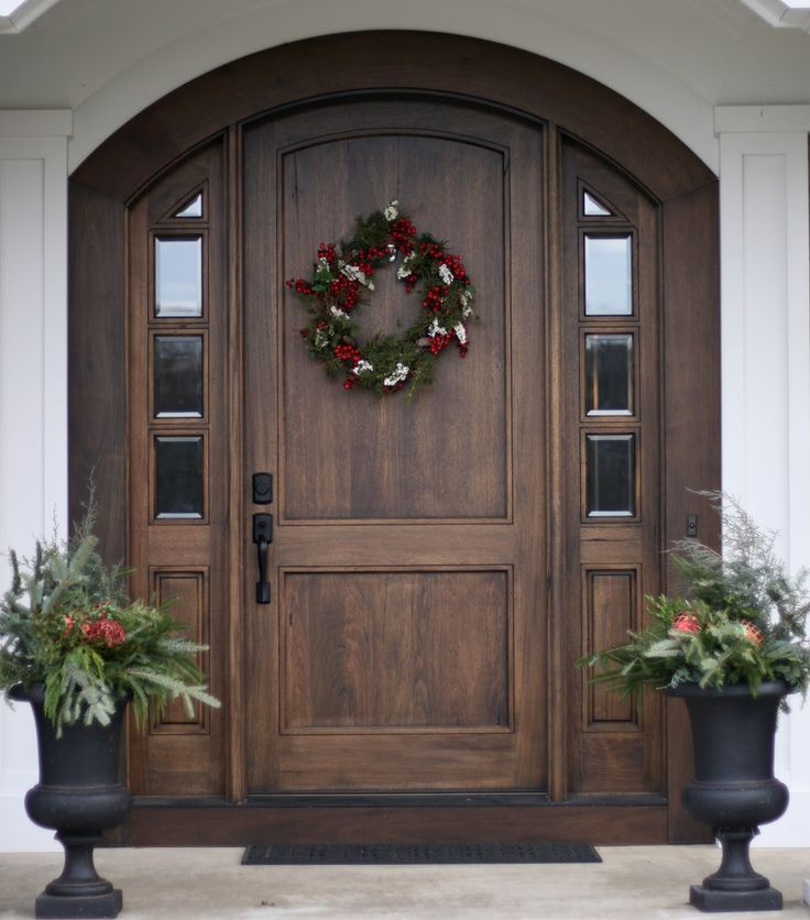 August Fields: christmas cheer | Cheer, Fields and Front doors