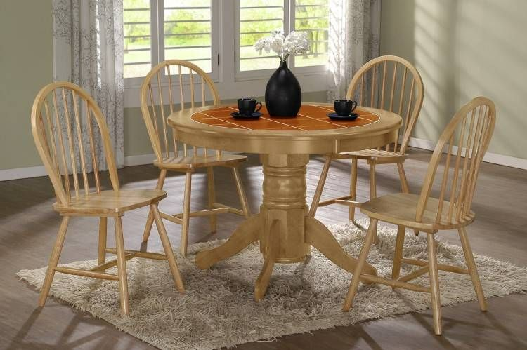 Tile Top Tables Dining Room Furniture Round Kitchen Table Set Top Kitchen Table Round Kitchen Table
