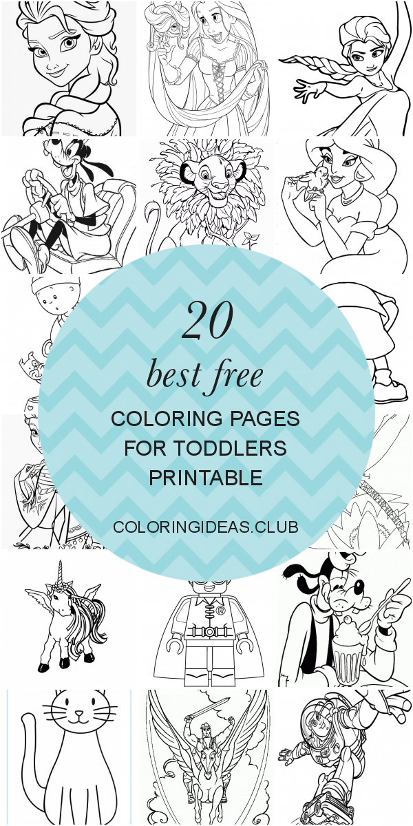 20 Best Free Coloring Pages For Toddlers Printable Coloring Pages For Toddlers Printables Free Coloring Pages Elmo Coloring Pages