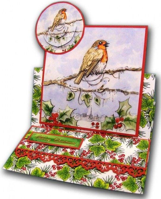 La Pashe Christmas Box traditional step by step decoupage