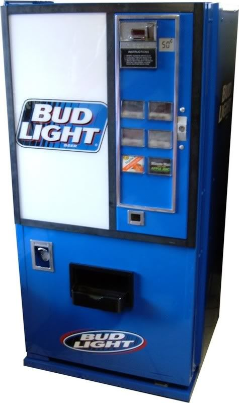 They Used To Have Beer Vending Machines At The Laundromat