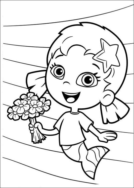 Bubble Guppies 10 | color pages | Pinterest