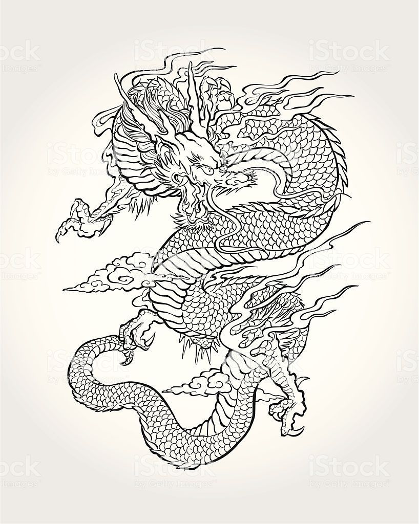 Photo of Traditioneller Asian Dragon