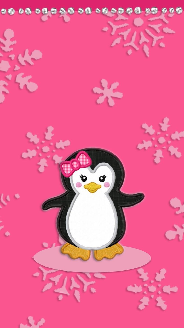 Penguin Holiday Wallpapers/Backgrounds | Xmas Wallpapers Android+ ...