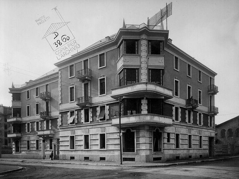 Casa radici di stefano piero portaluppi itineraries for Case di architetti