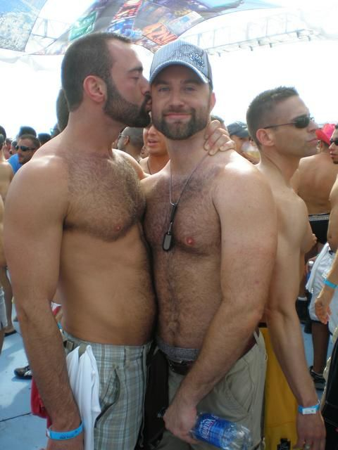 Gay hairy male