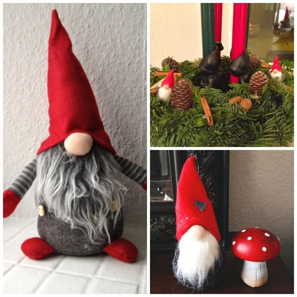 More Danish Christmas Hygge. This Time: Gnomes | Gnomes, Danish ...