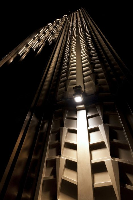 Walker building nyc new york lighting exterior tower - Exterior architectural led lighting ...