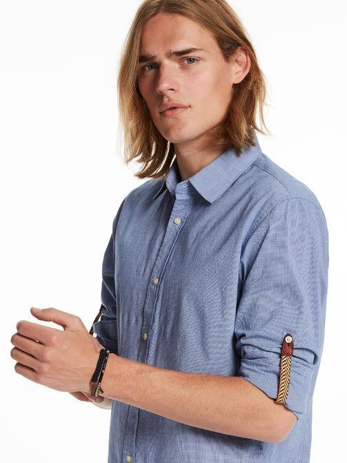 Camicia in tessuto elasticizzato