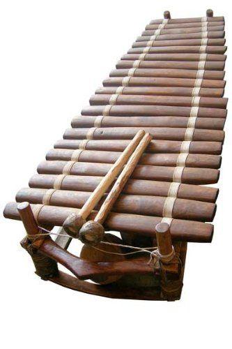 20-22 Key West African Marimba - Professional Balafon ...  |African Wooden Xylophone