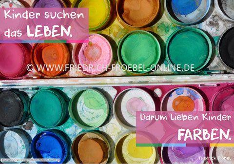Poster Mit Padagogischem Spruch Zitat Zu Kindern Von Friedrich