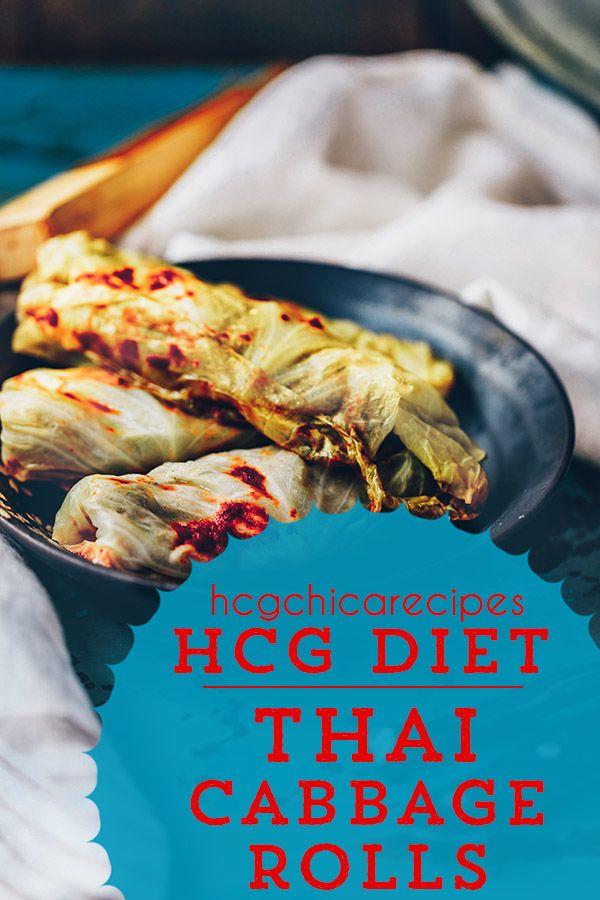 P2 hCG Recipes | Thai Stuffed Baked Cabbage Rolls | LSP + SP + AP #protiendiet