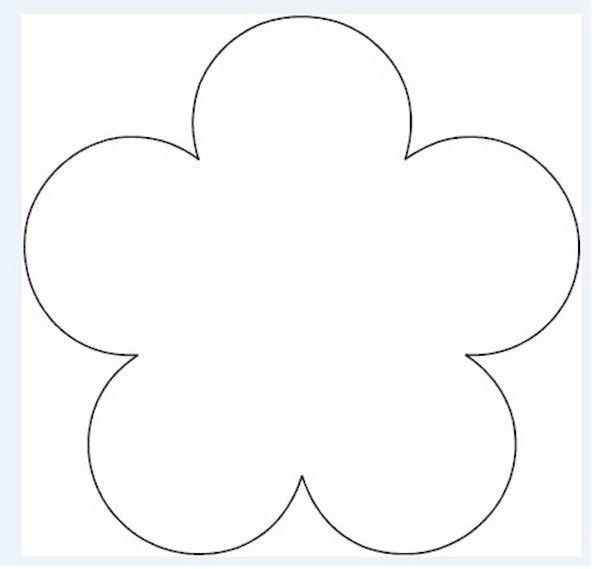 Flower Template wallpapershdi School party ideas Pinterest - flower template