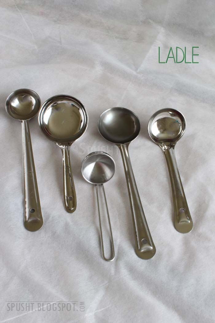 Ladle To Serve Liquid Food Items Kitchen Utensils