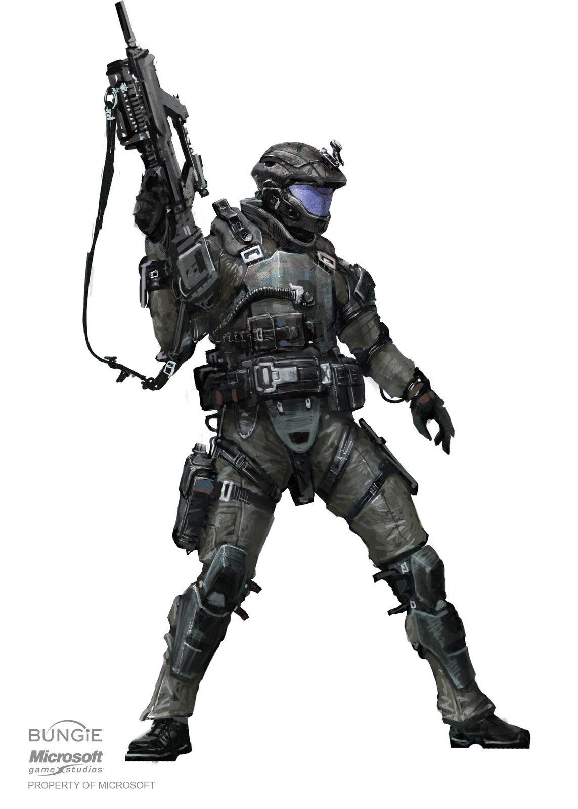 Halo 3 Concept Art (update) 12210  Homework Pinterest