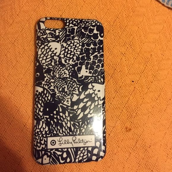 100% authentic 6994d 6ccac LFT phone case Gently used Lilly Pulitzer for Target iPhone 6 case ...