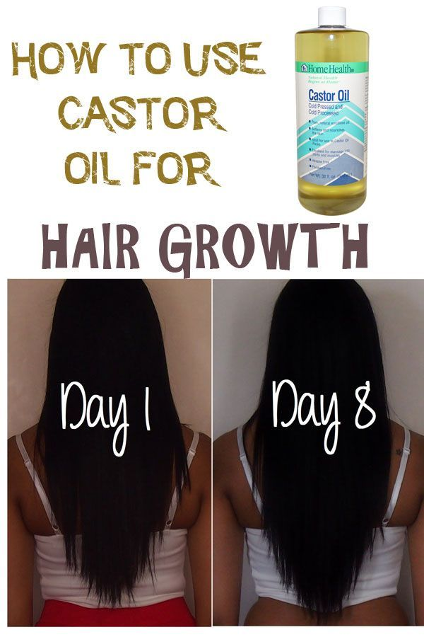 076143c4207 How to use Castor Oil to grow longer and healthier hair - Best oils for hair  growth.