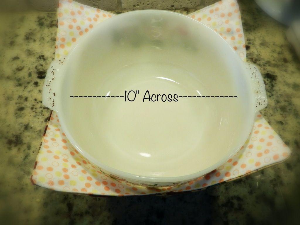 xl microwave bowl potholder tutorial diy crafts sewing microwave bowls pot holders. Black Bedroom Furniture Sets. Home Design Ideas