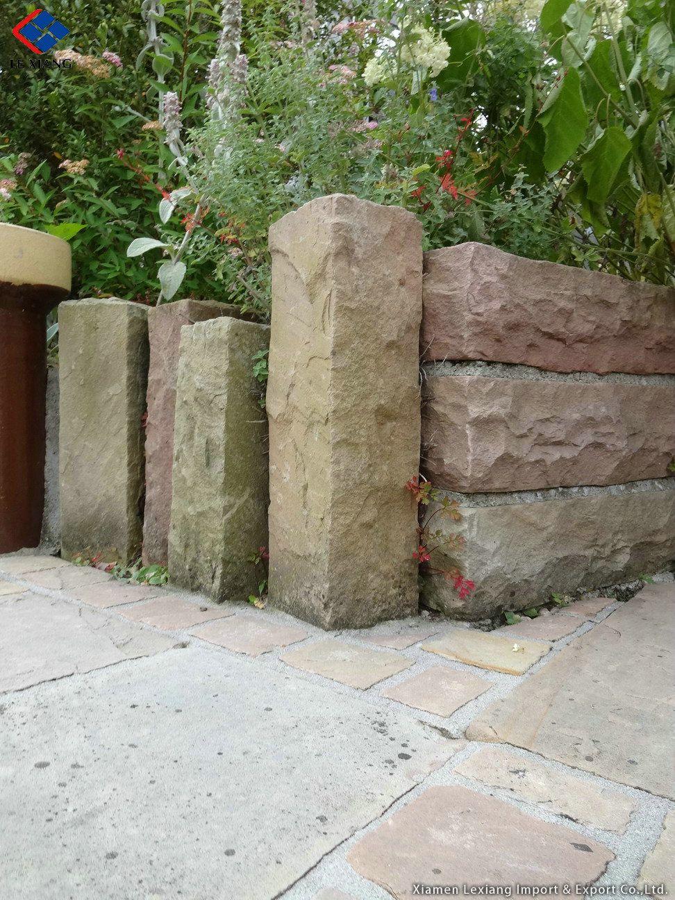 Geländer Stein Palisaden Palisaden Granit Palisaden Garten
