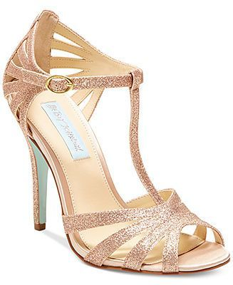 Blue by Betsey Johnson Tee Evening Sandals - Shop all Shoes, Lingerie, & Accessories - Women - Macy's