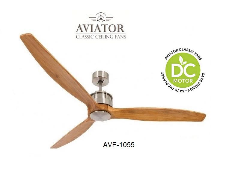 The Aviator Classic Dc Inverter Wooden Blade Ceiling Fan Is Not