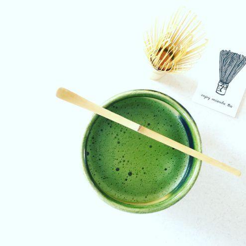 Velvet Matcha Blanket Mizuba Tea Co