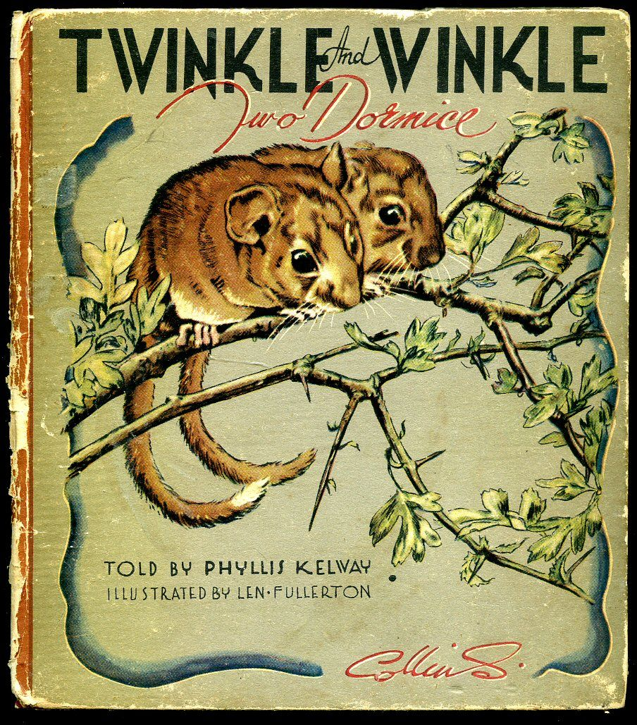 Twinkle And Winkle (two dormice) ~ 1947