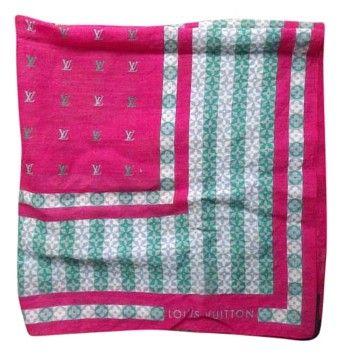 Louis Vuitton LOUIS VUITTON Scarf Monogram Cotton