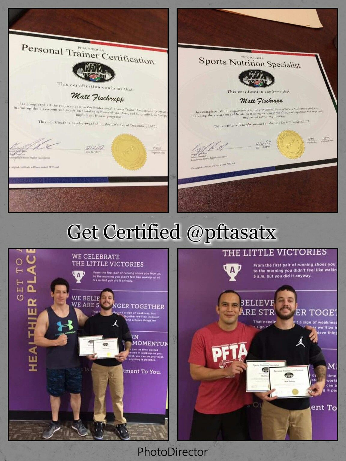 Get Certified In Personal Training With Hands On Experience At Pfta