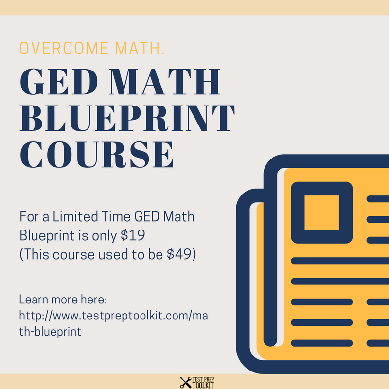 For a limited time we are opening our ged math blueprint course for for a limited time we are opening our ged math blueprint course for only 19 malvernweather Gallery