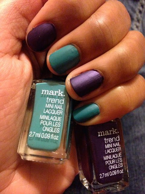 Mark Nailed It Matte Trend Mini Nail Lacquers Review Beauty
