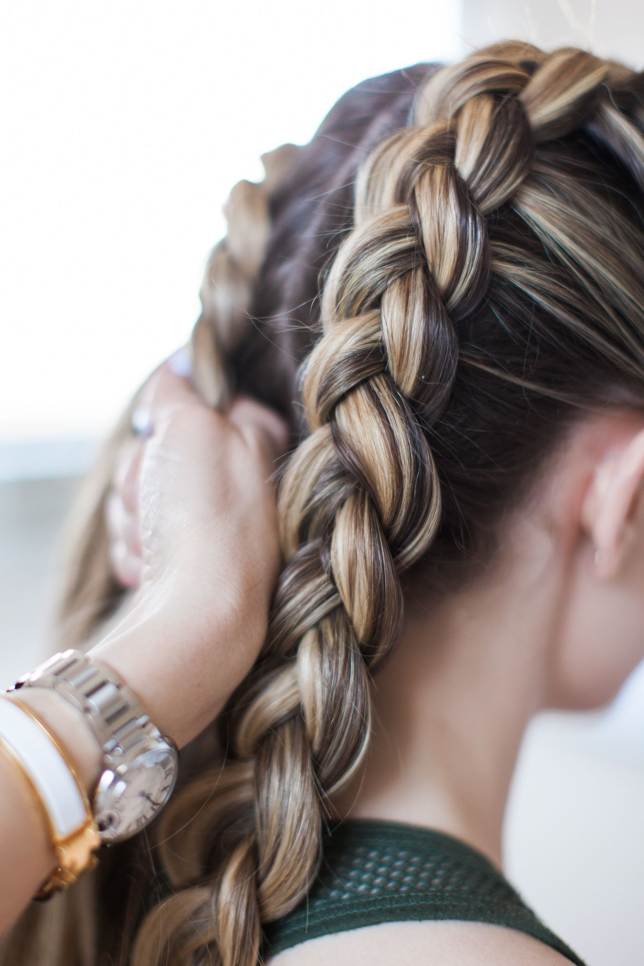 How To Get The Kylie Jenner Double Dutch Braids Stylisted