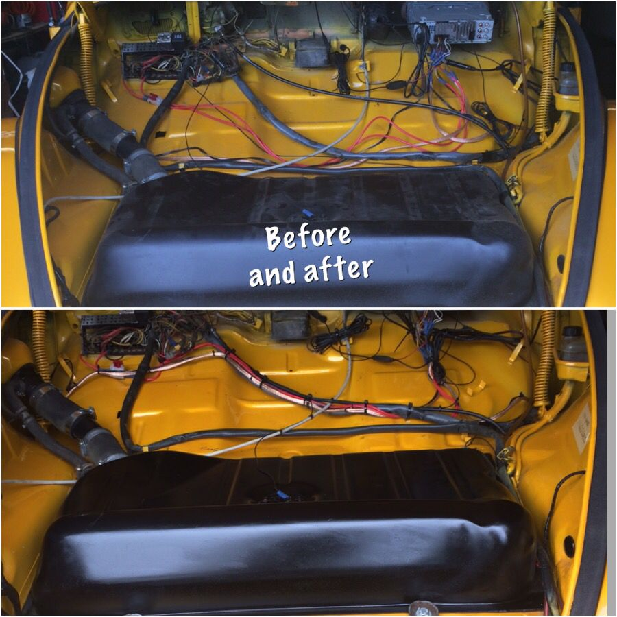 tidy wires look better vw engine vw beetles volkswagen south africa  [ 900 x 900 Pixel ]